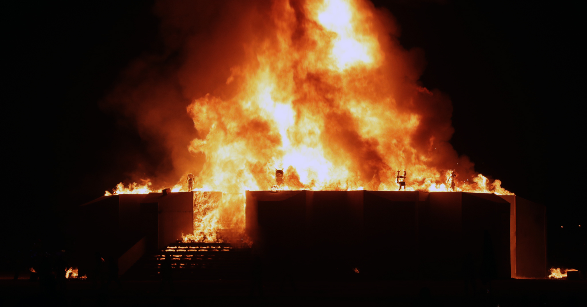 Linkedin Burning Man Article Graphic