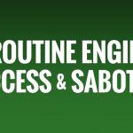 Routine Engine of Success & Sabotage